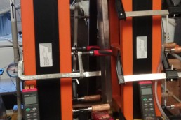Heat exchanger (HU) and Airgap membrane unit (MHU)